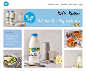 NEW: Kefir Recipes Website